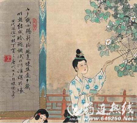 关于 七夕 的由来与传说 习俗